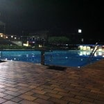 Swim practice at Midnight